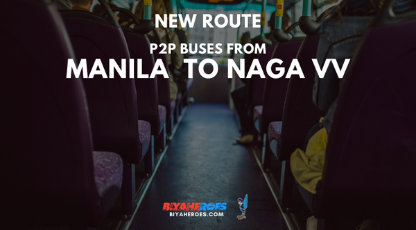 NEW: How to book Manila to Naga and Naga to Manila bus tickets via PARTAS!