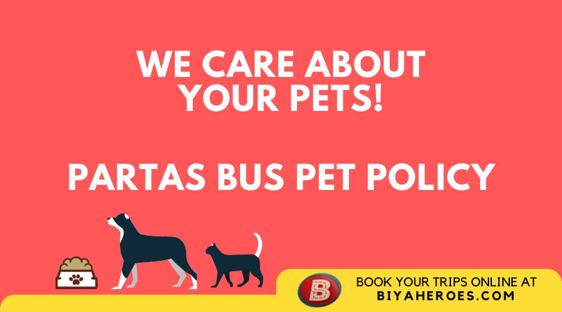 Partas Bus Pet Policy