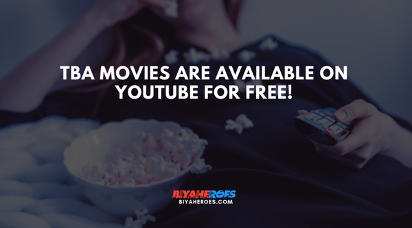 TBA movies are available on Youtube for FREE!