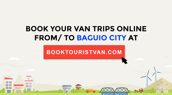 Book your van trips from Baguio City to Manila!